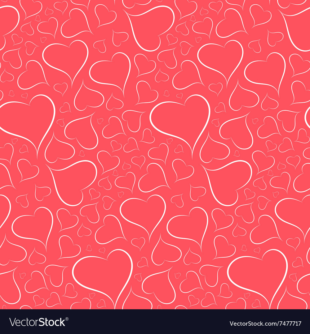 Romantic bright background with a white outline