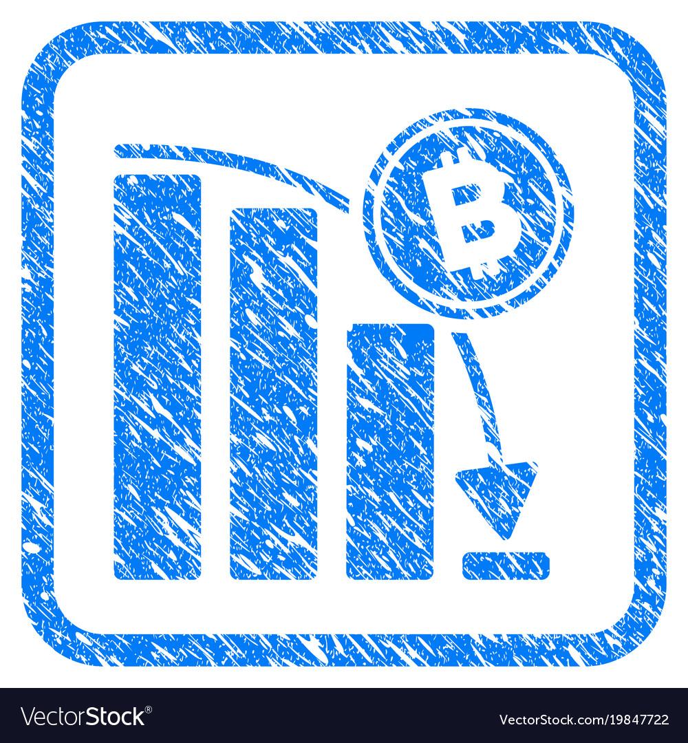 Bitcoin epic fail chart framed stamp