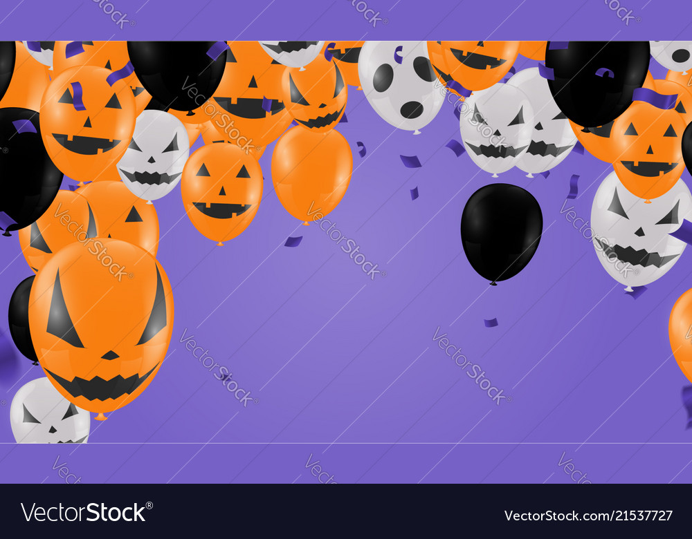 Halloween background with halloween ghost