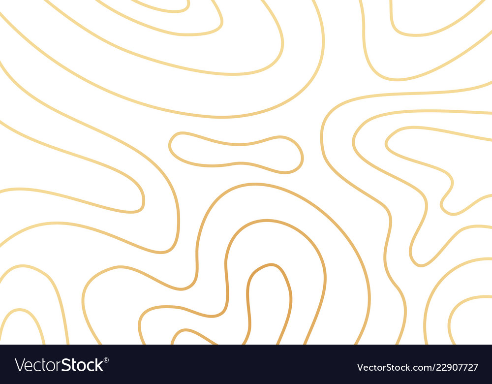 Modern abstract topography geometric cover