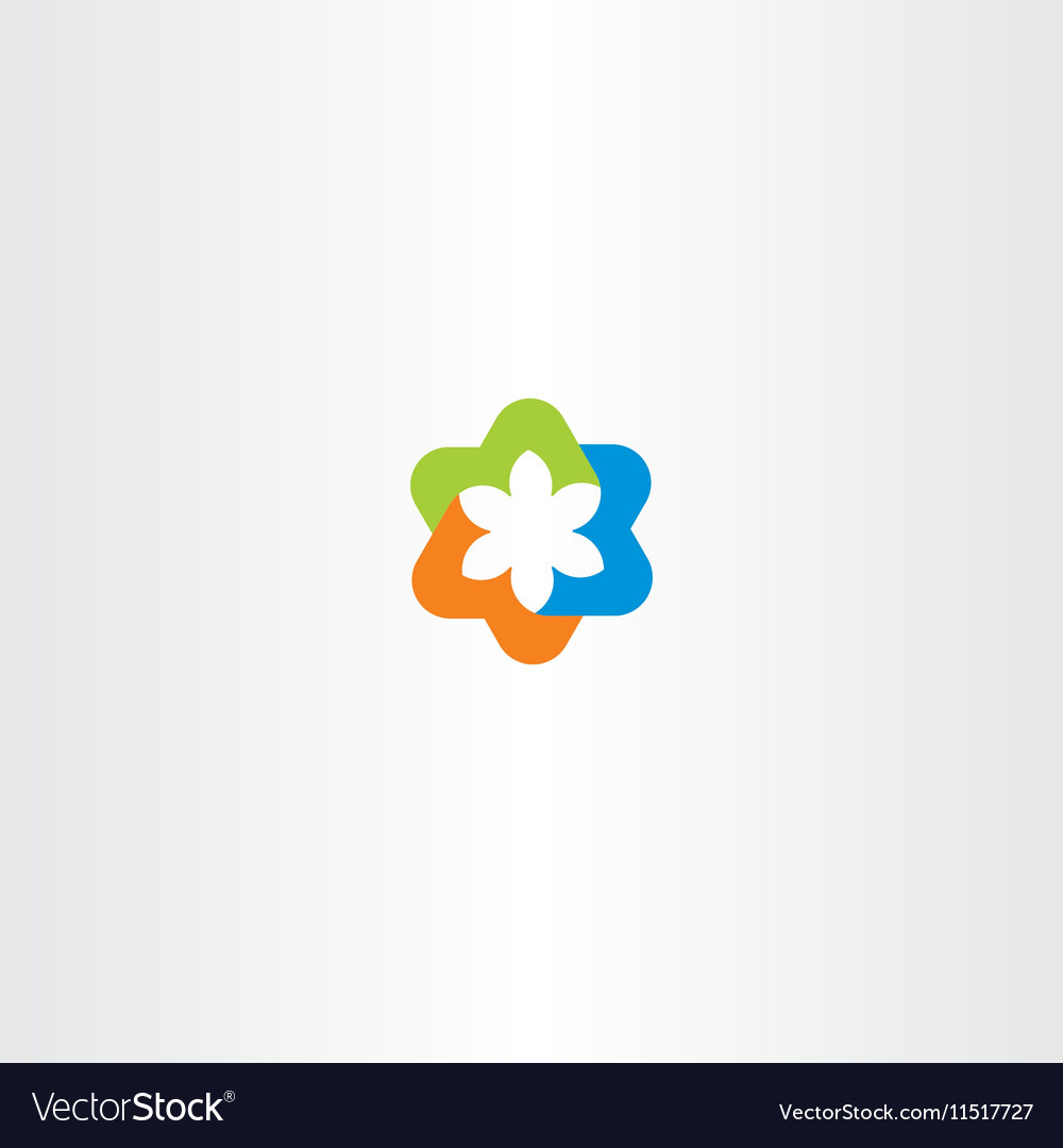 Tech logo icon symbol abstract business sign vector image