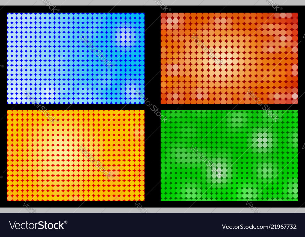 Dotted color background