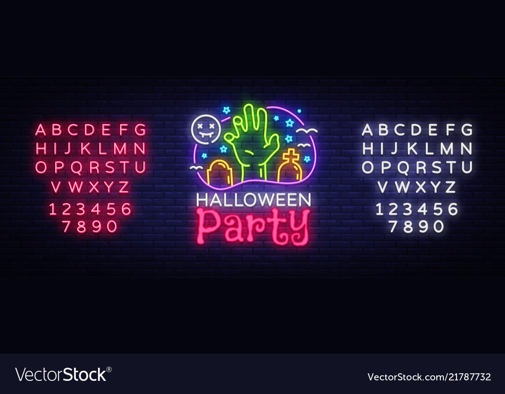 Halloween party design template halloween