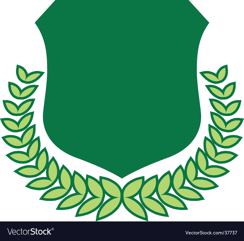 Crest vector image