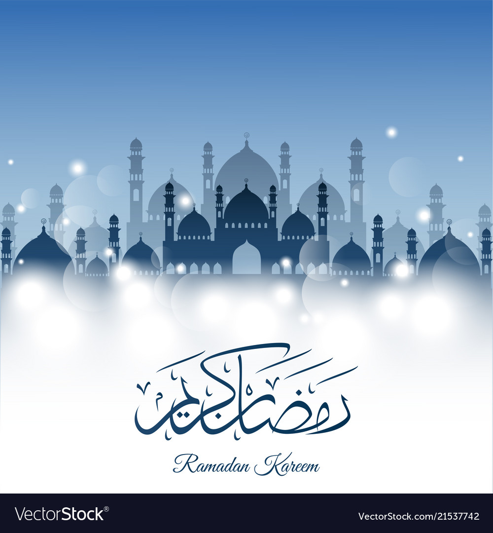 Abstract background for ramadan kareem