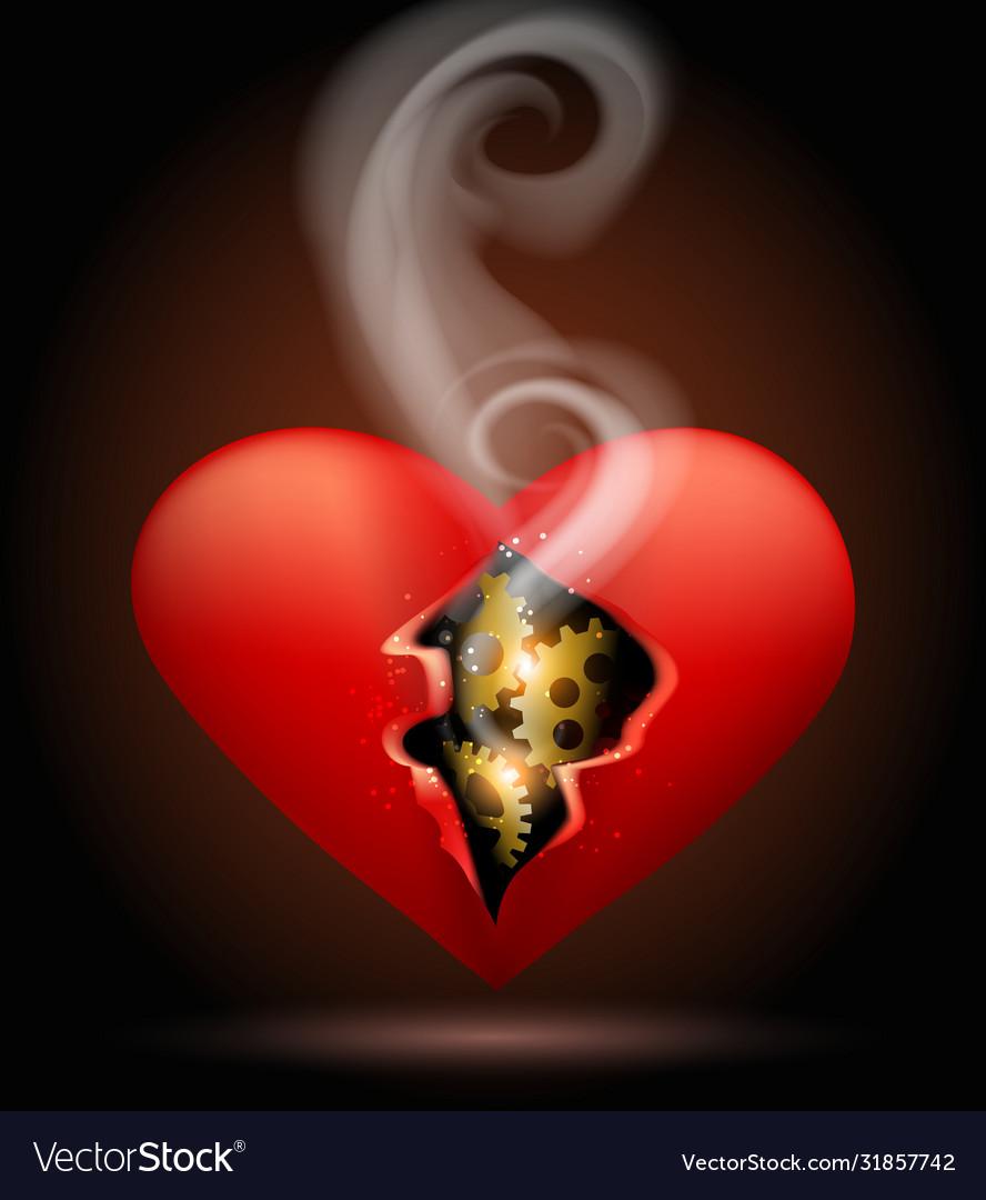 Broken machine heart
