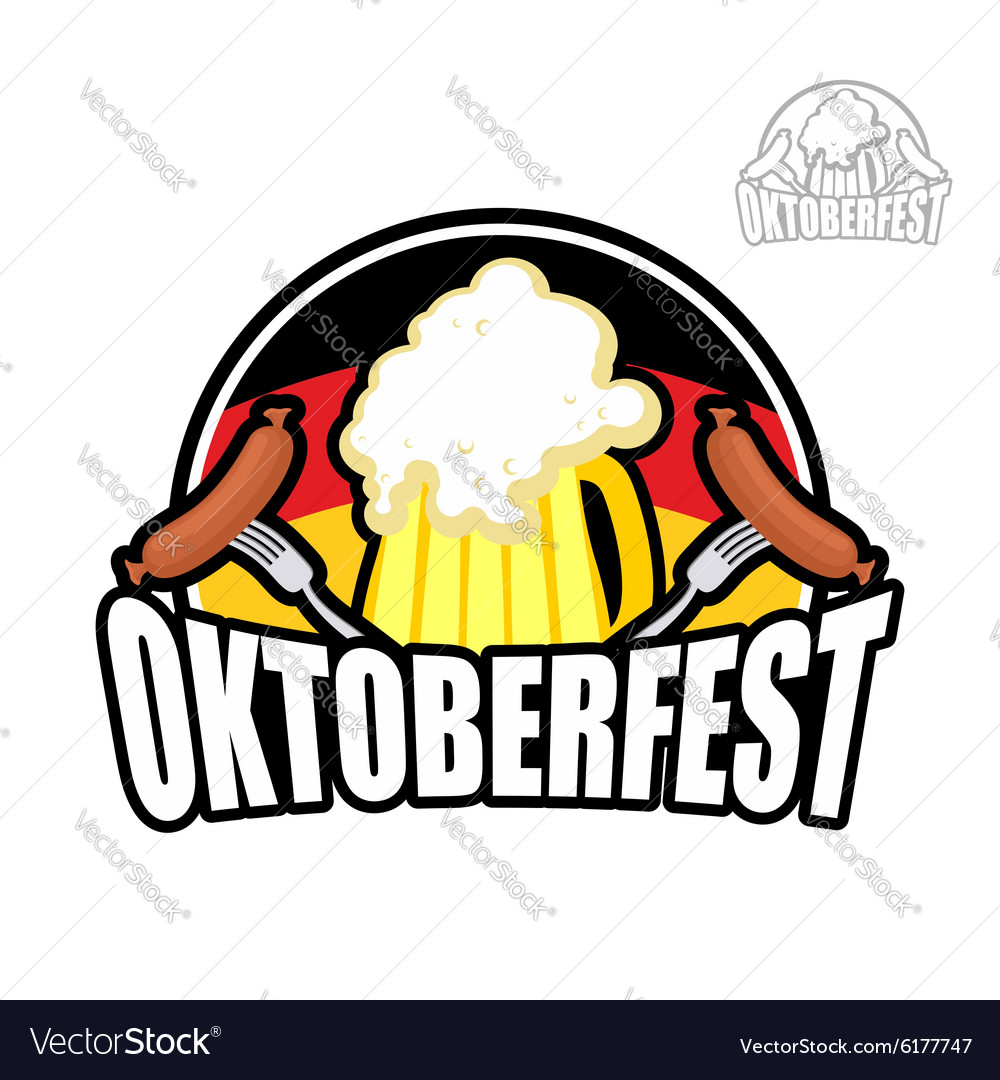 Beer Festival Oktoberfest in Germany Beer mug on