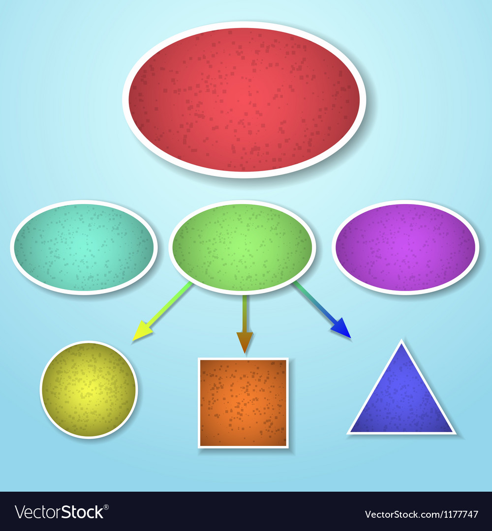 Mind mapping vector image