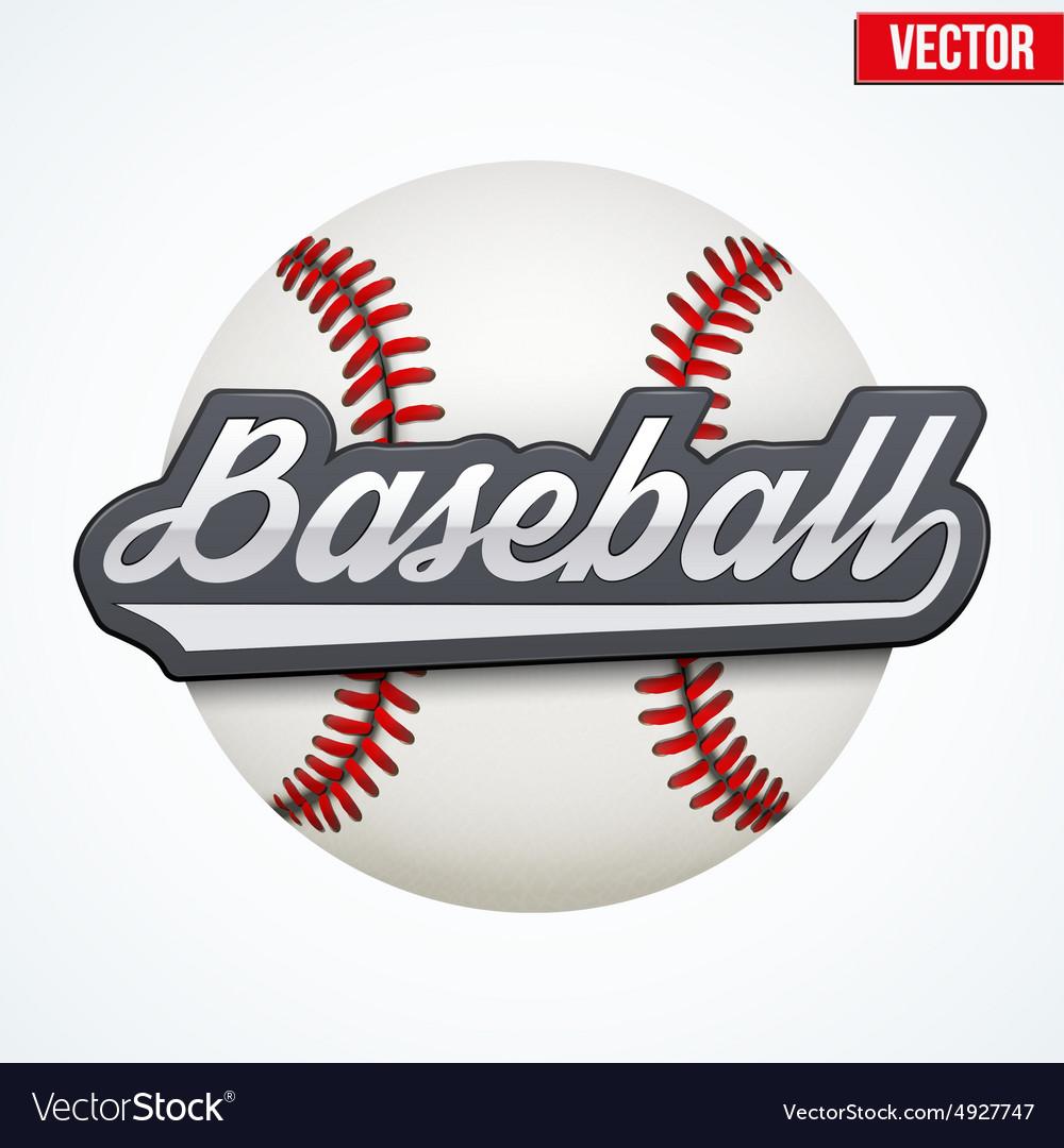 Premium Baseball label