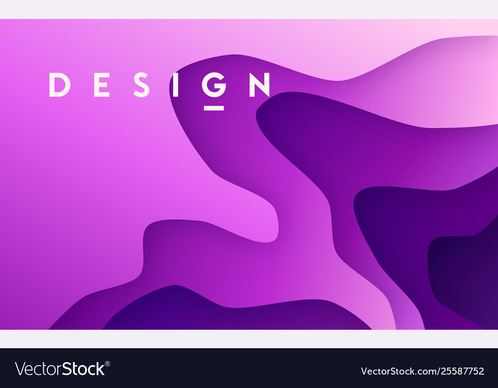 Abstract gradient geometric paper design colorful