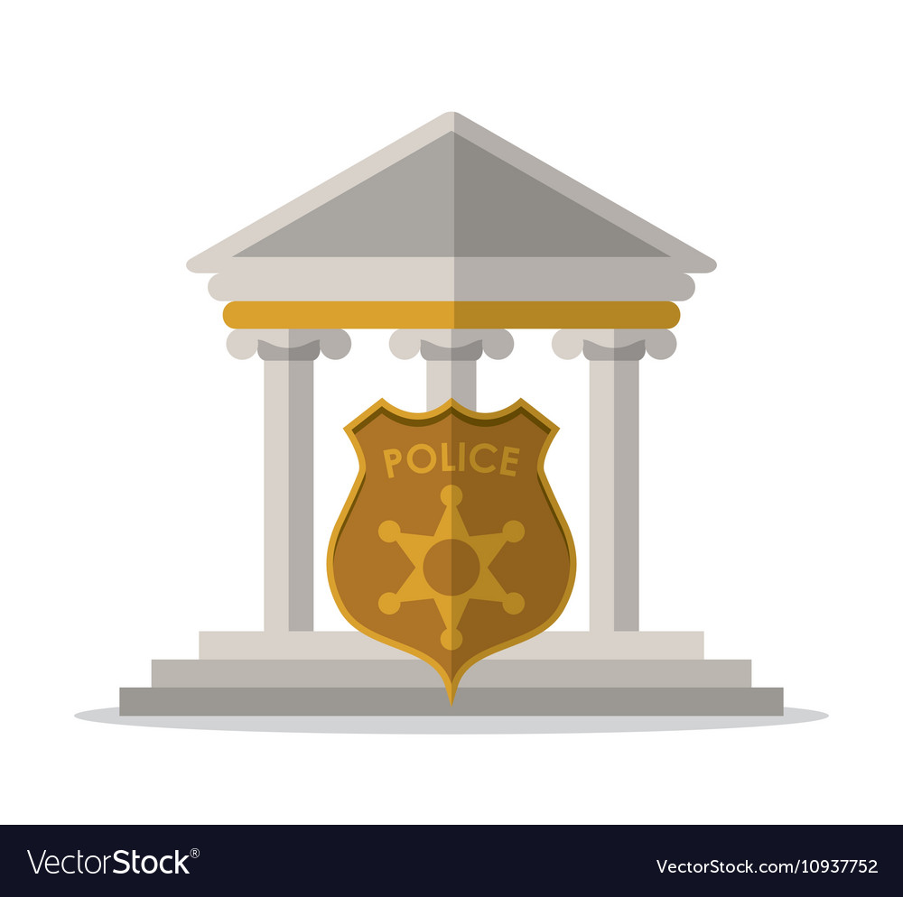 Building police shield and law design