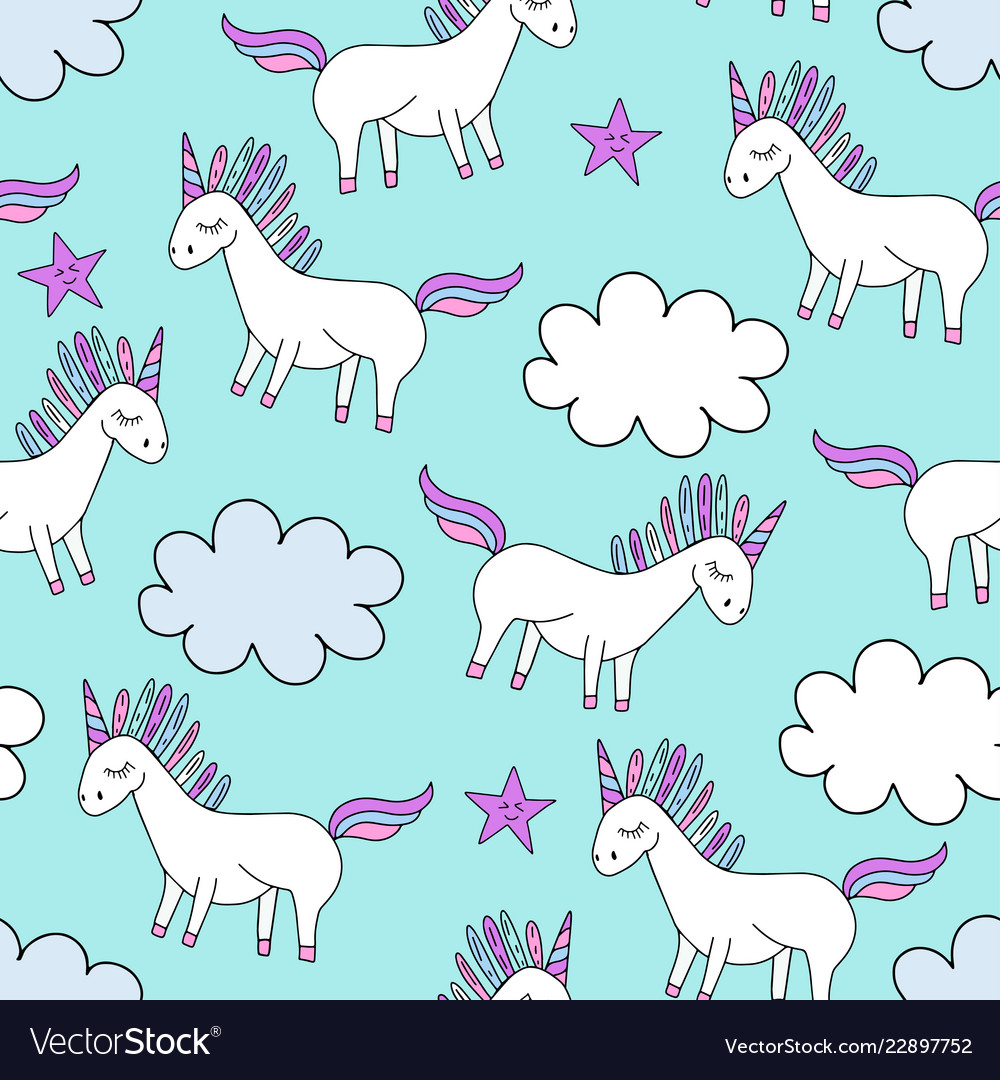 Cute Unicorn Background Pictures Best Wallpapers Cloud