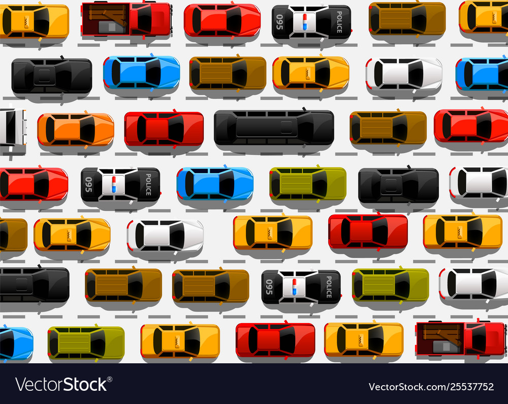 Traffic jam on road road transport highway