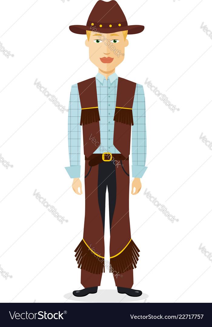 Cowboy man western cow boy