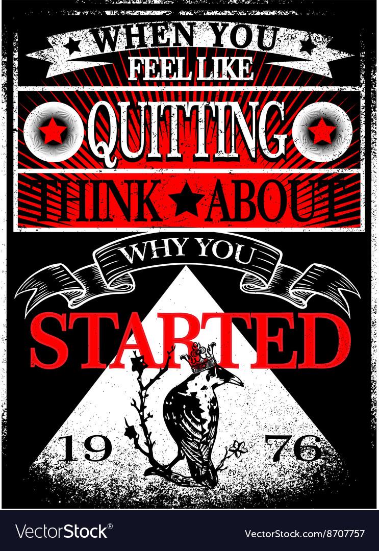 73e5cd1fb492 Vintage Slogan Man T shirt Graphic Design Vector Image