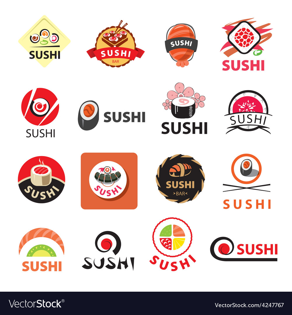 Biggest collection of logos sushi