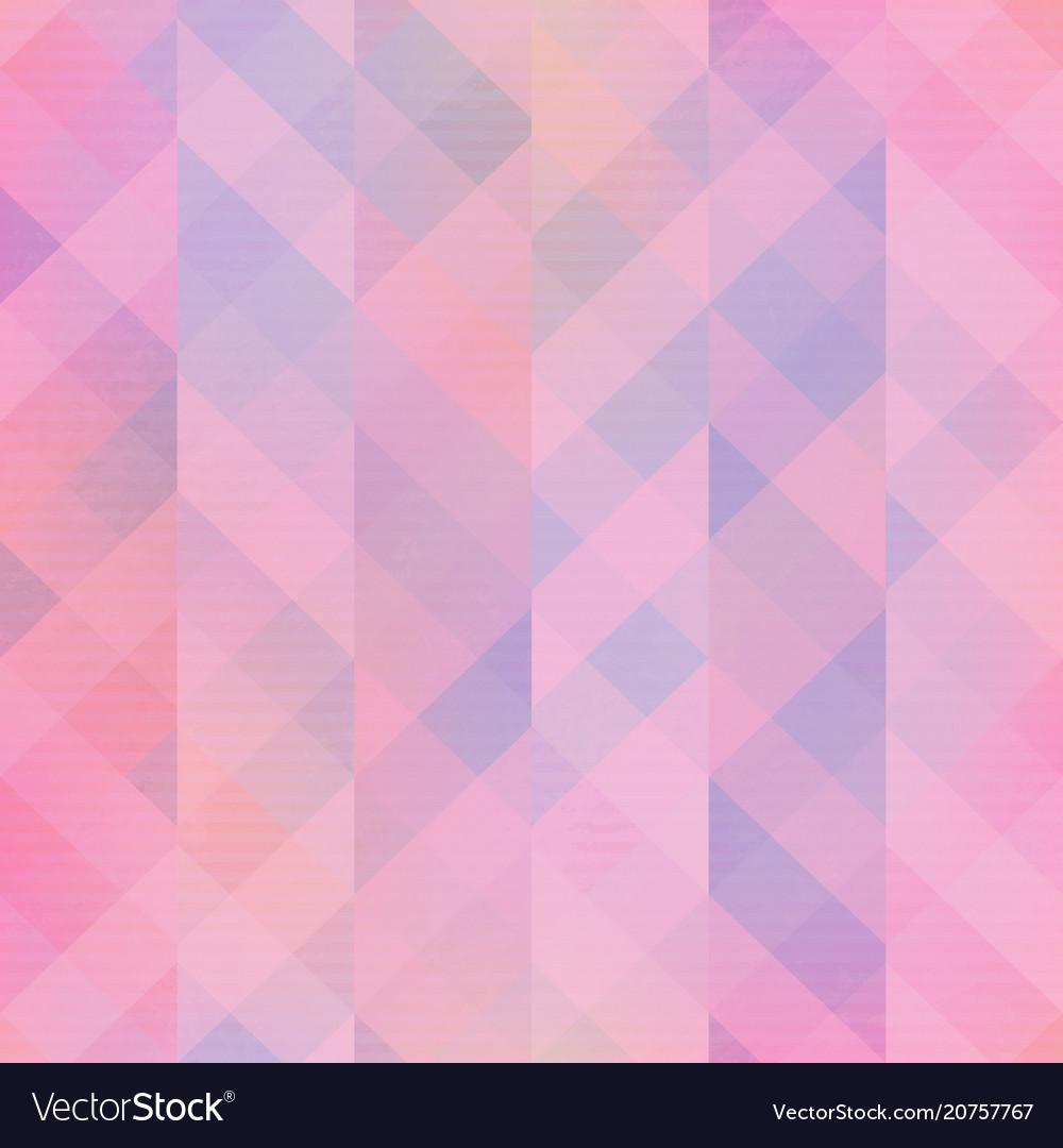 Pink mosaic seamless pattern vector image