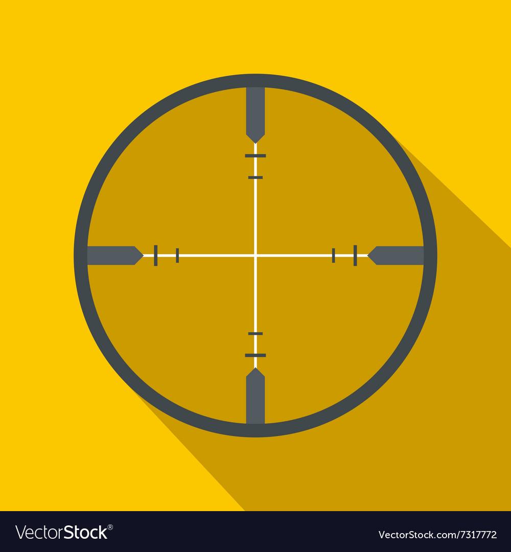Crosshair flat icon