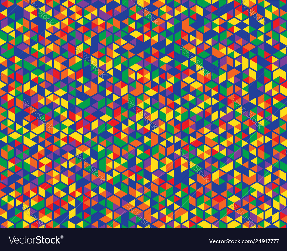 Color background abstract seamless pattern