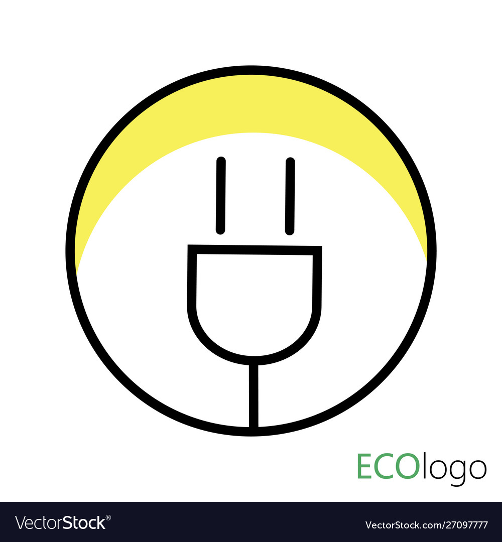 Logo is energy logo a stylized light bulb in a
