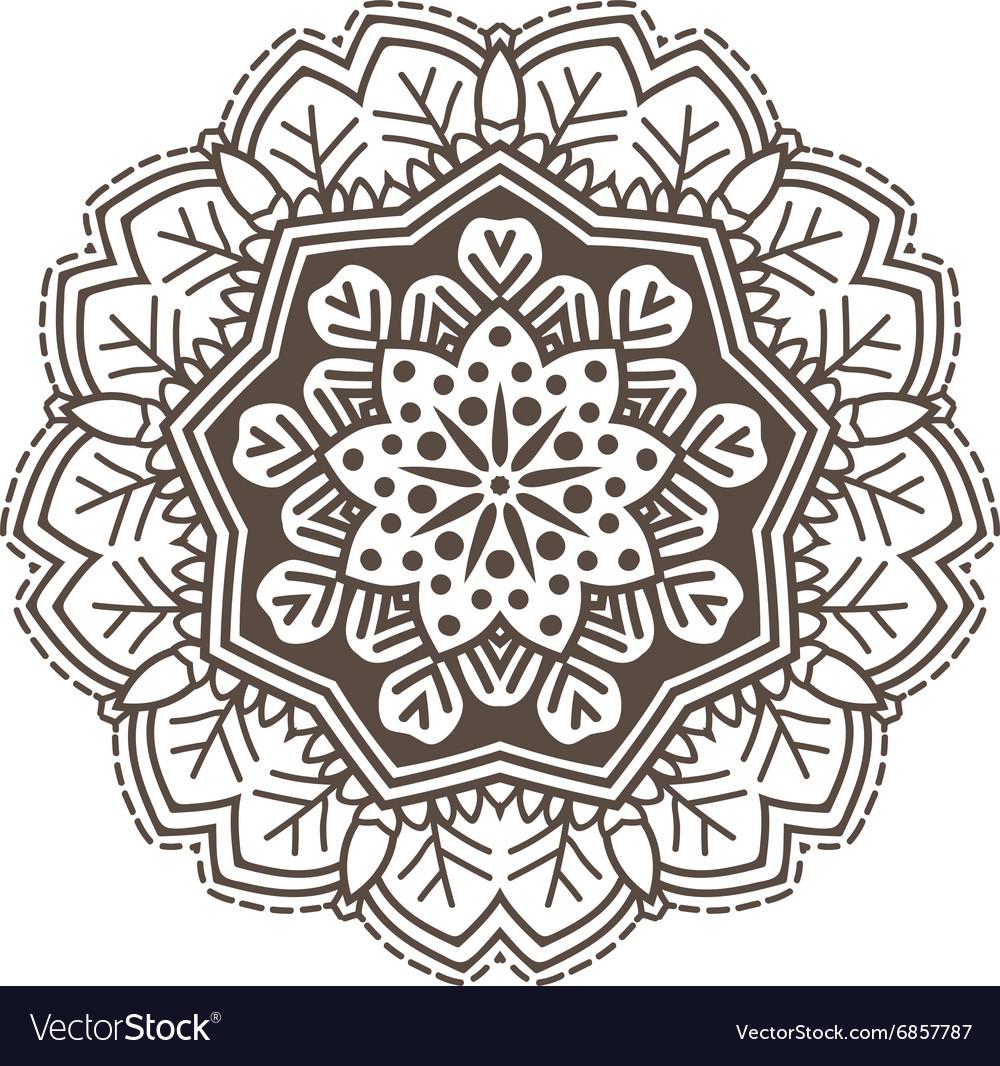 Ethnic Fractal Mandala Meditation looks like