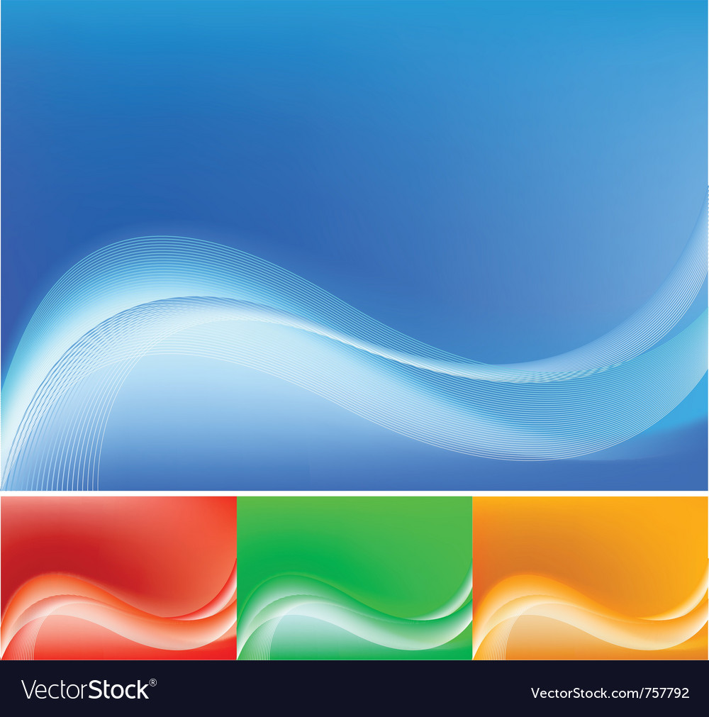 Blue abstract composition background