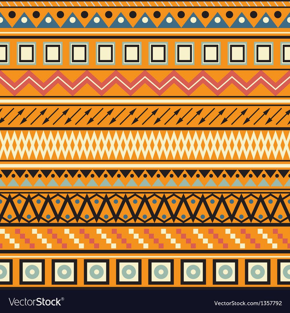 Tribal striped seamless pattern