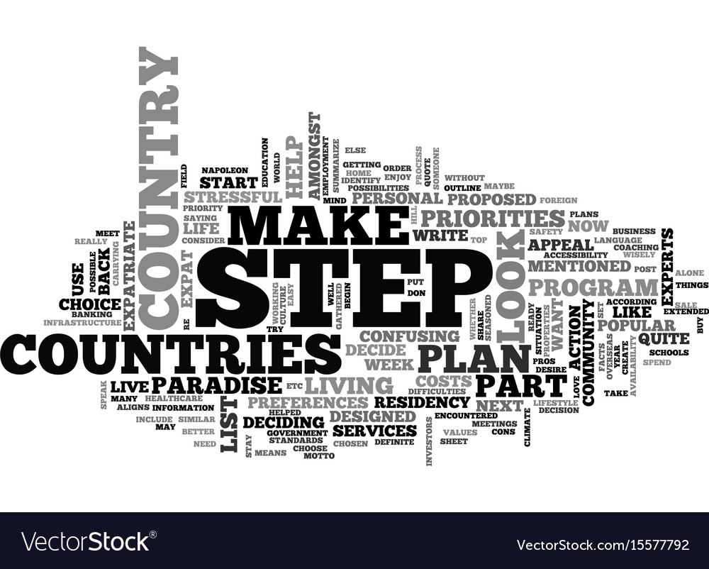 What does it mean to be an expatriate part how to vector image