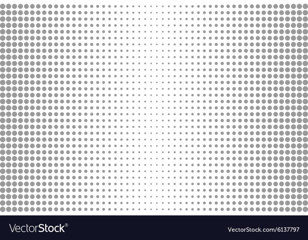 Circle dots vector image