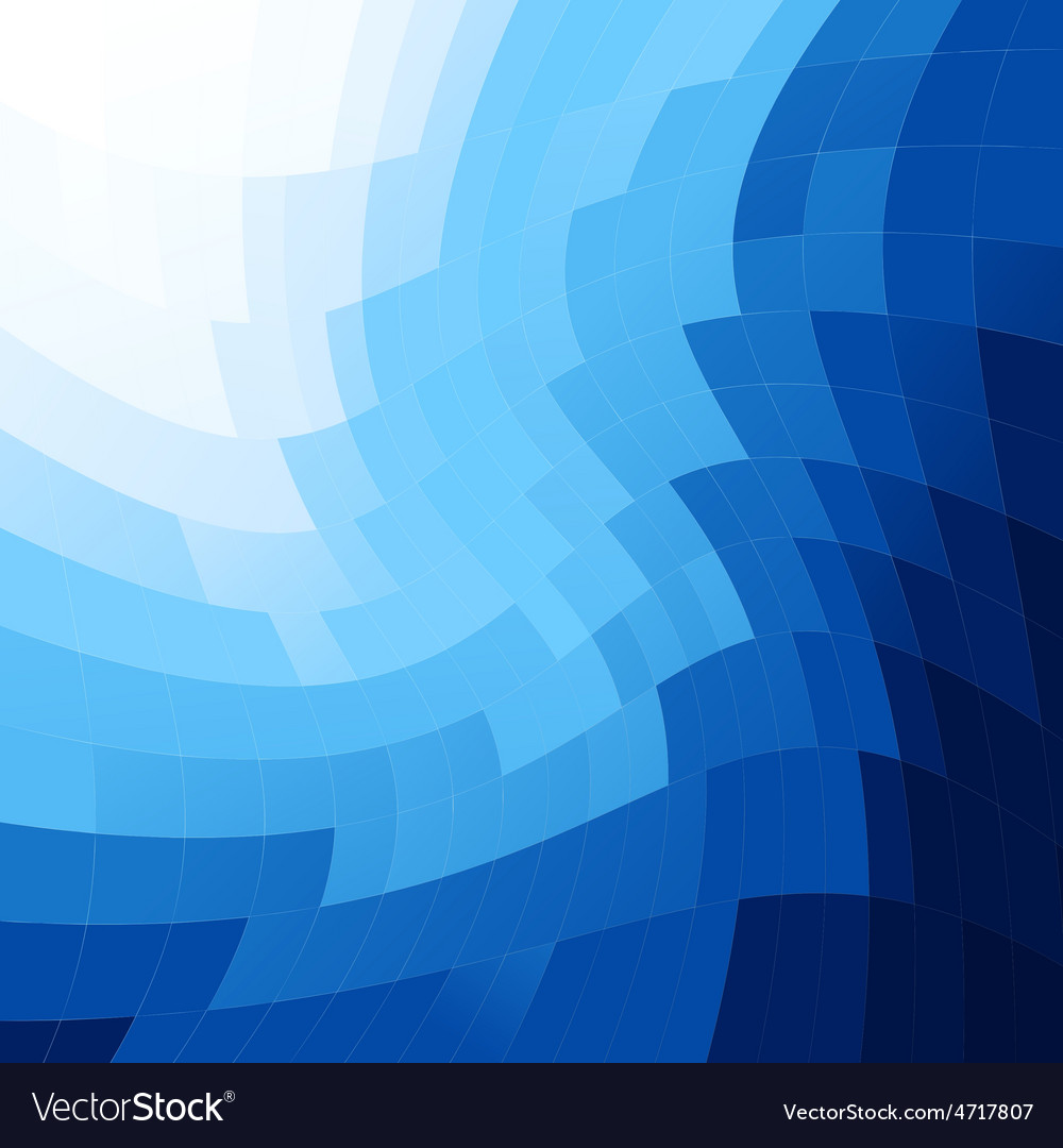 Blue Abstract Background Square
