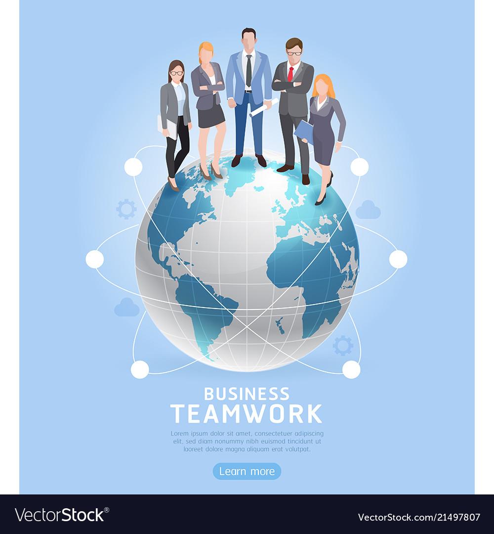 Business teamwork concepts businessman and