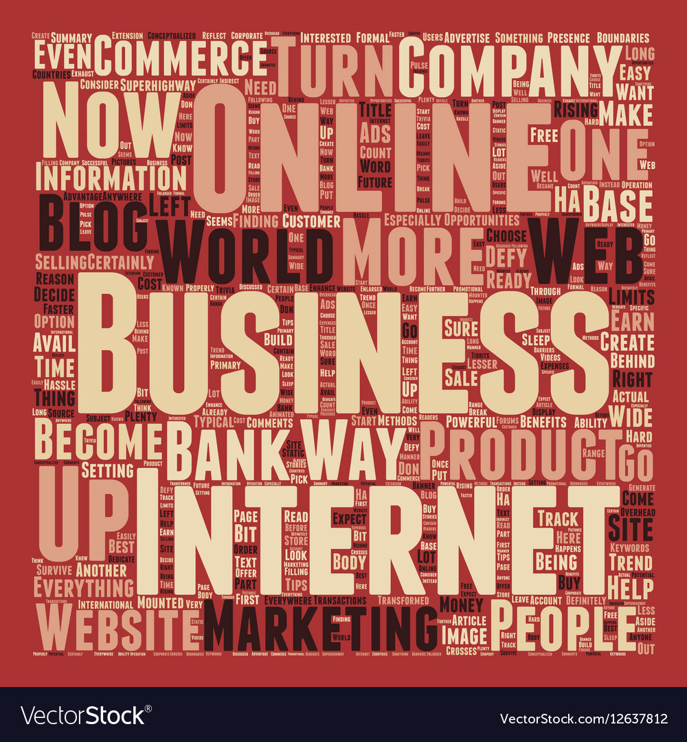 Defy Limits With An Online Business text