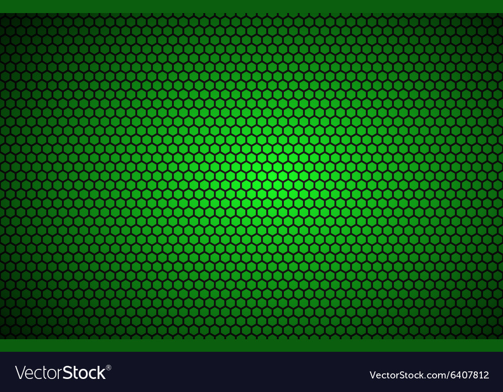 Geometric polygons background abstract green