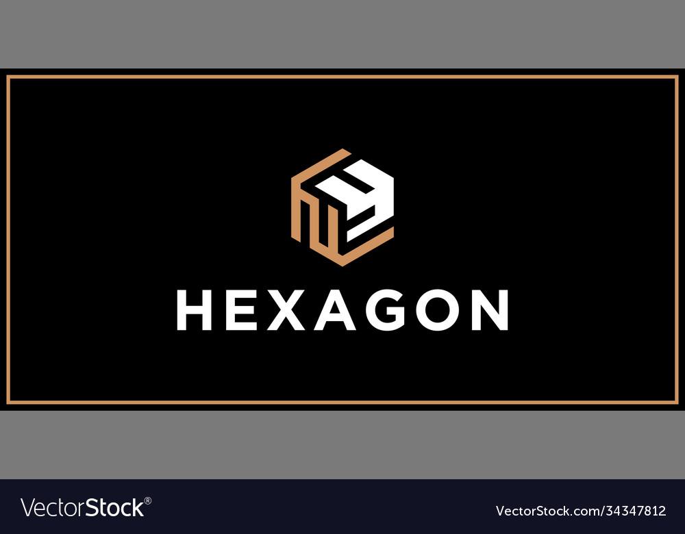 Ny hexagon logo design inspiration