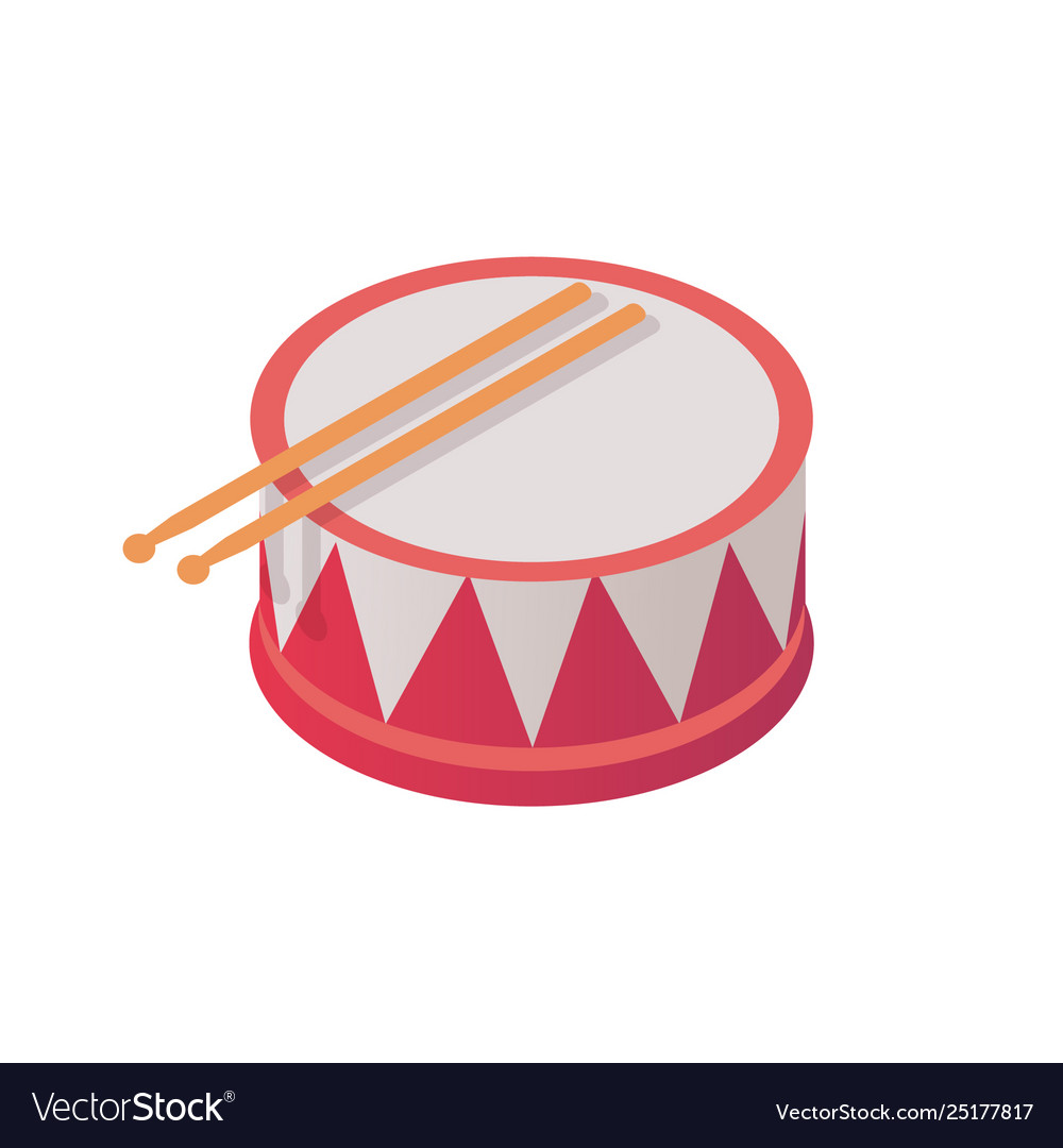 Isometric toy and musical instrument in vivid