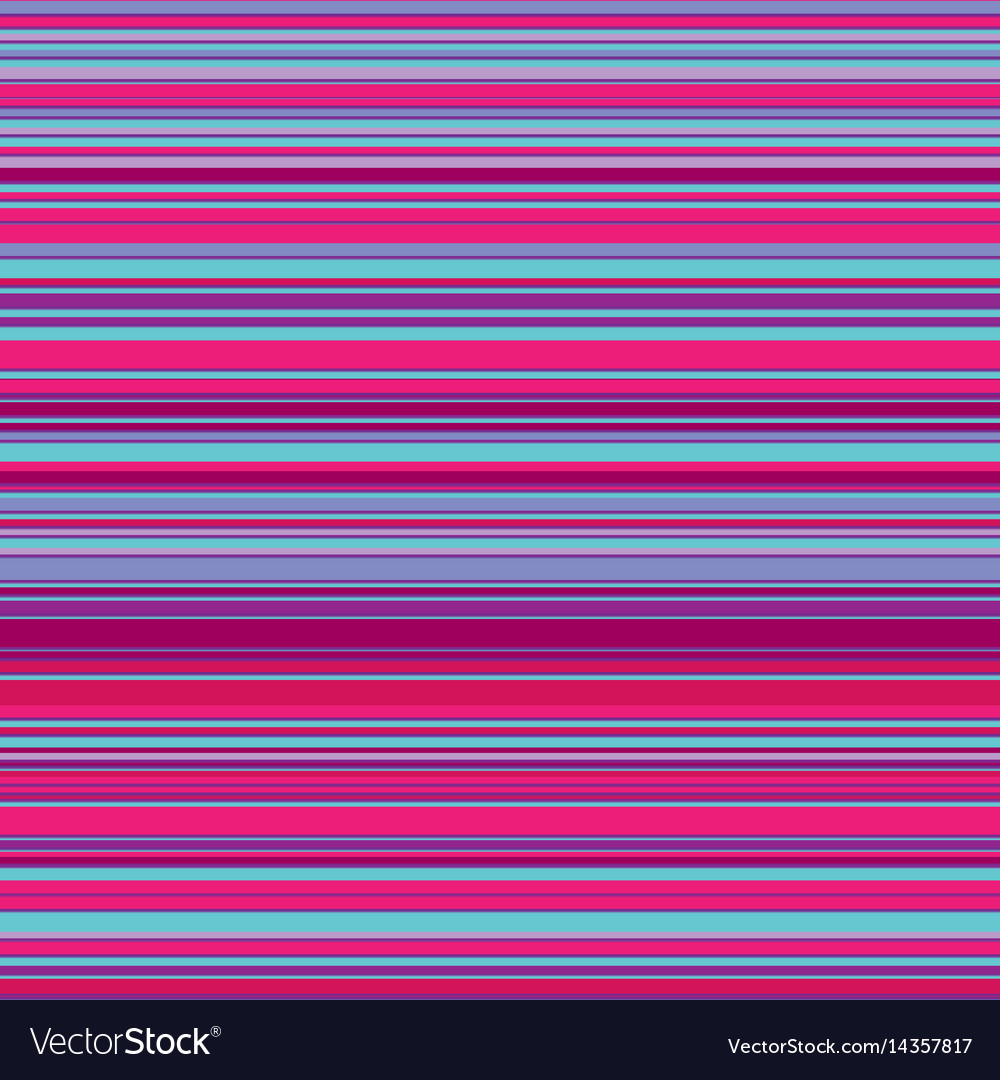 Seamless bright colorful horizontal lines
