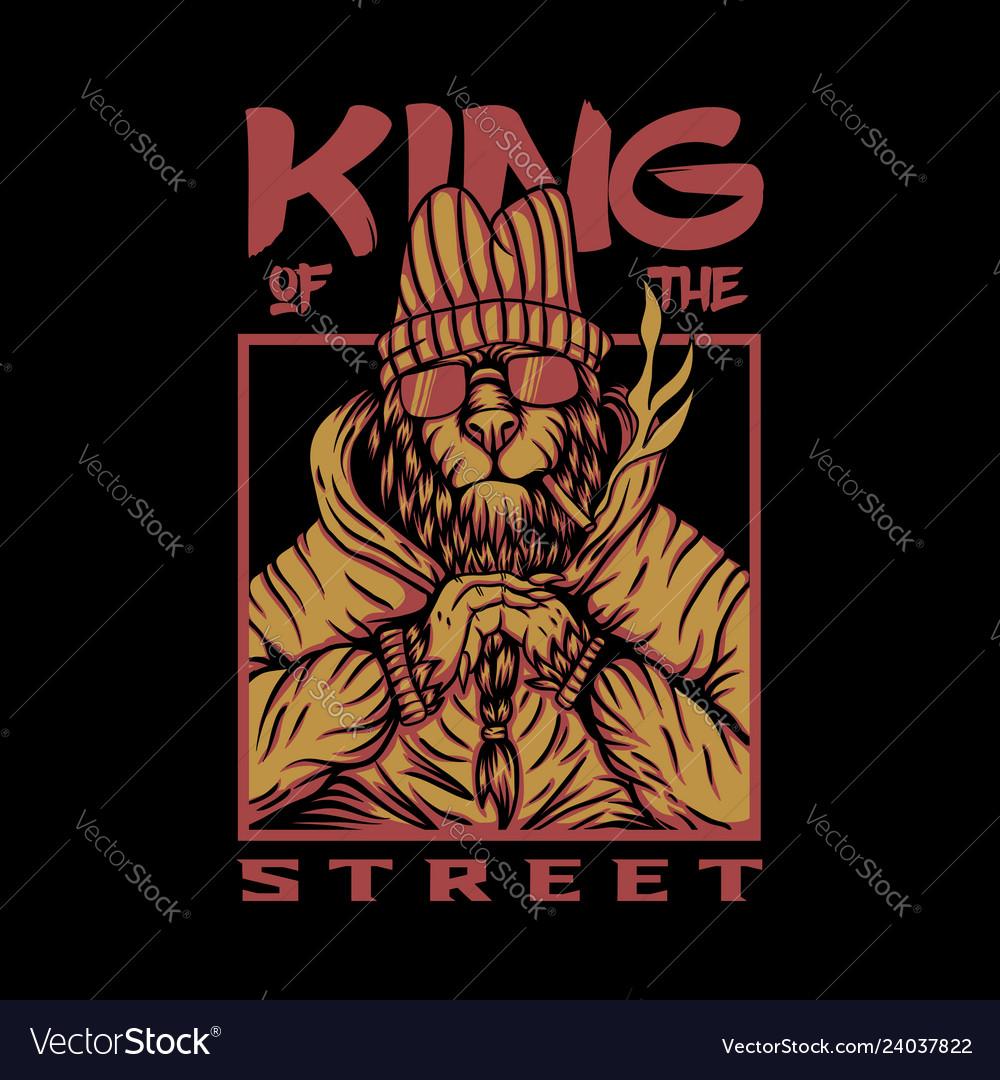King street lion design