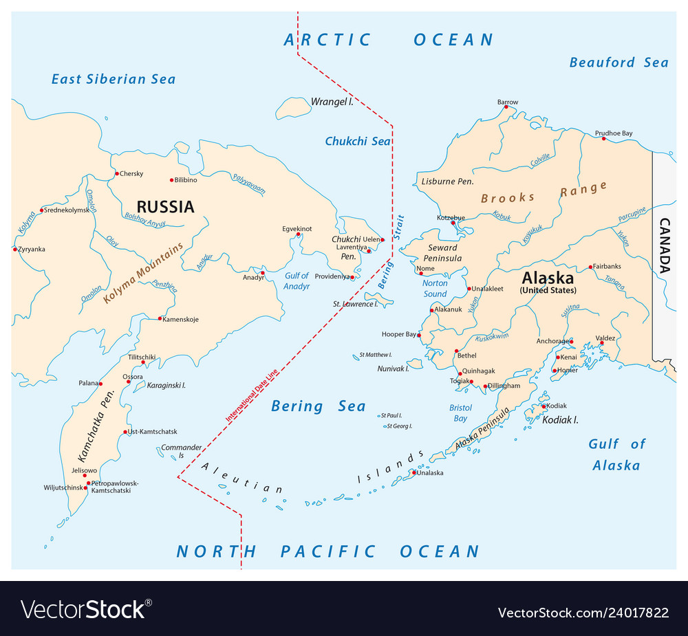 Map of the bering strait between russia and alaska Map From Alaska To Russia on map of eastern russia, eastern siberia russia, kamchatka siberia russia, map of siberia and alaska,