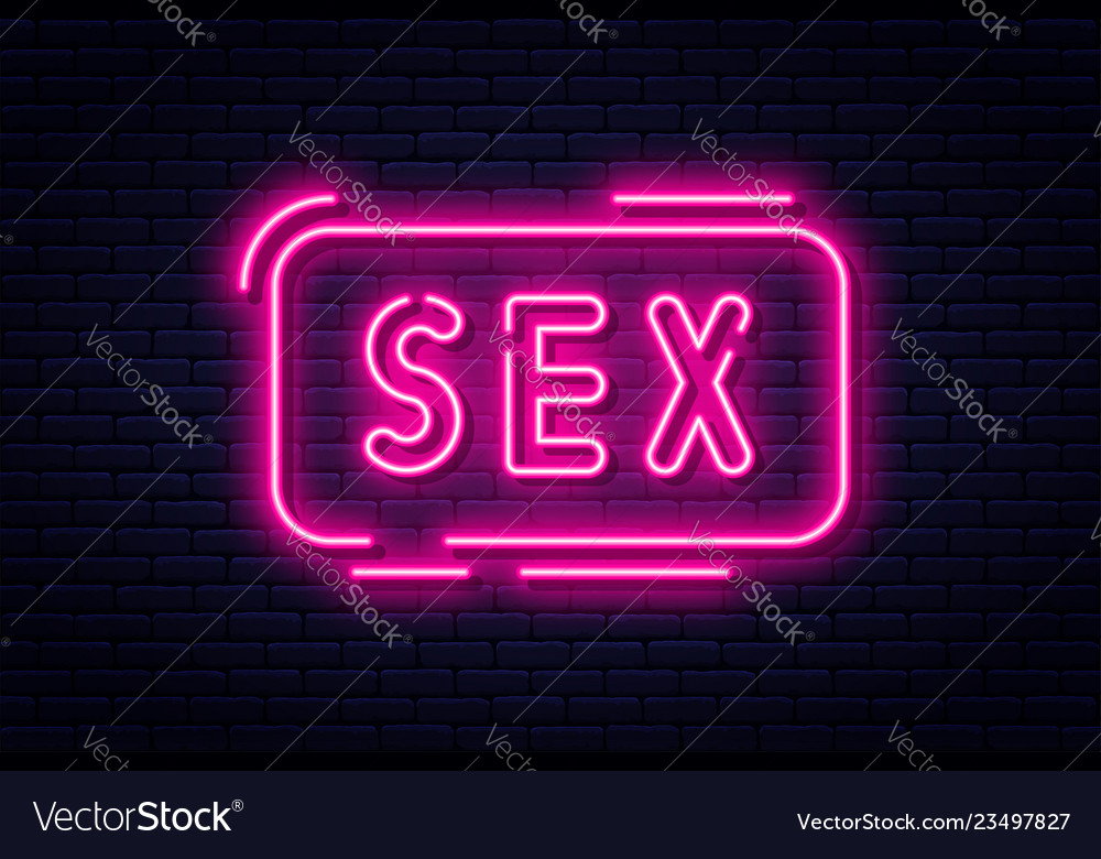 Neon sign adults only 18 plus sex and xxx