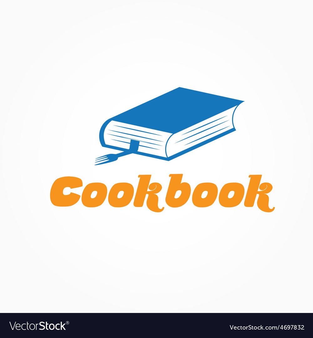 cookbook design template royalty free vector image