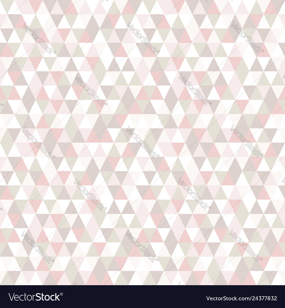 Pastel color triangle seamless pattern abstract