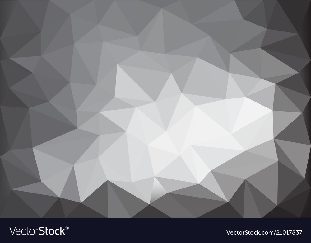 Abstract gray tone light low polygon background