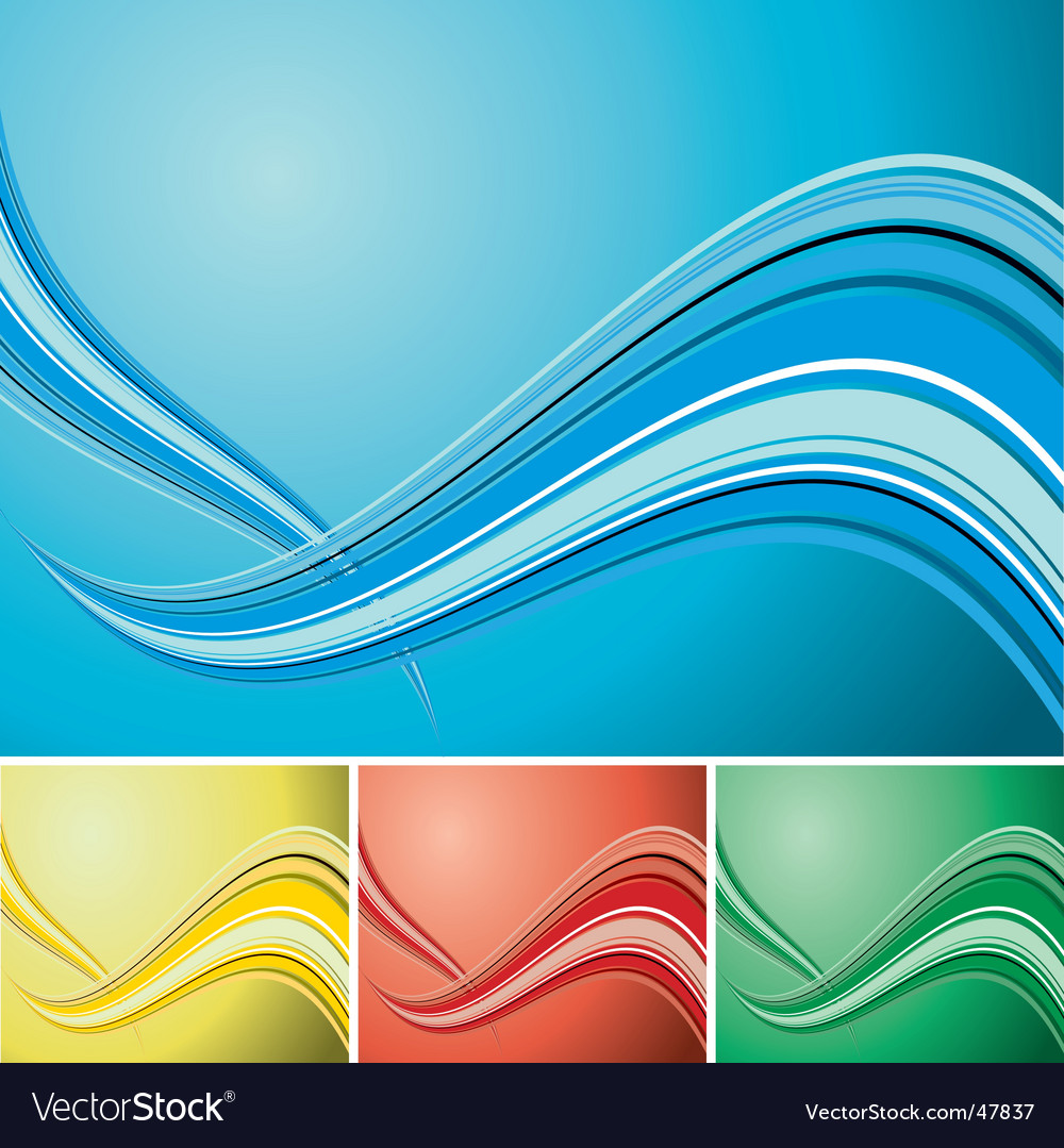 Quad wave background