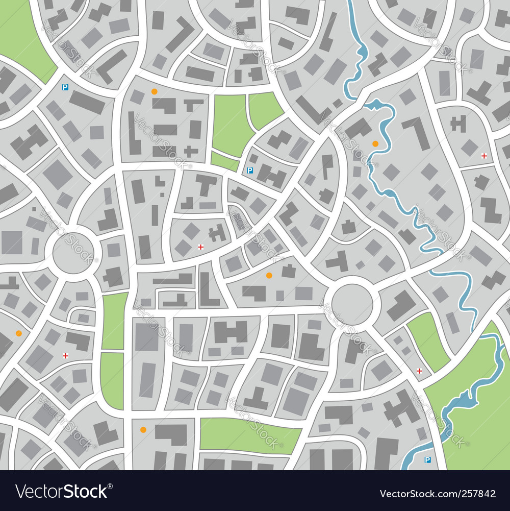 City map vector image City map Royalty
