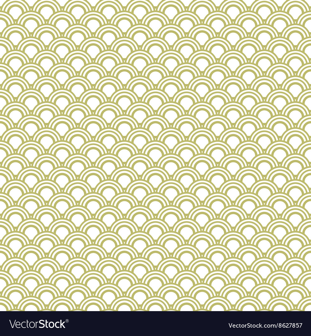 Japanese wave oriental seamless pattern