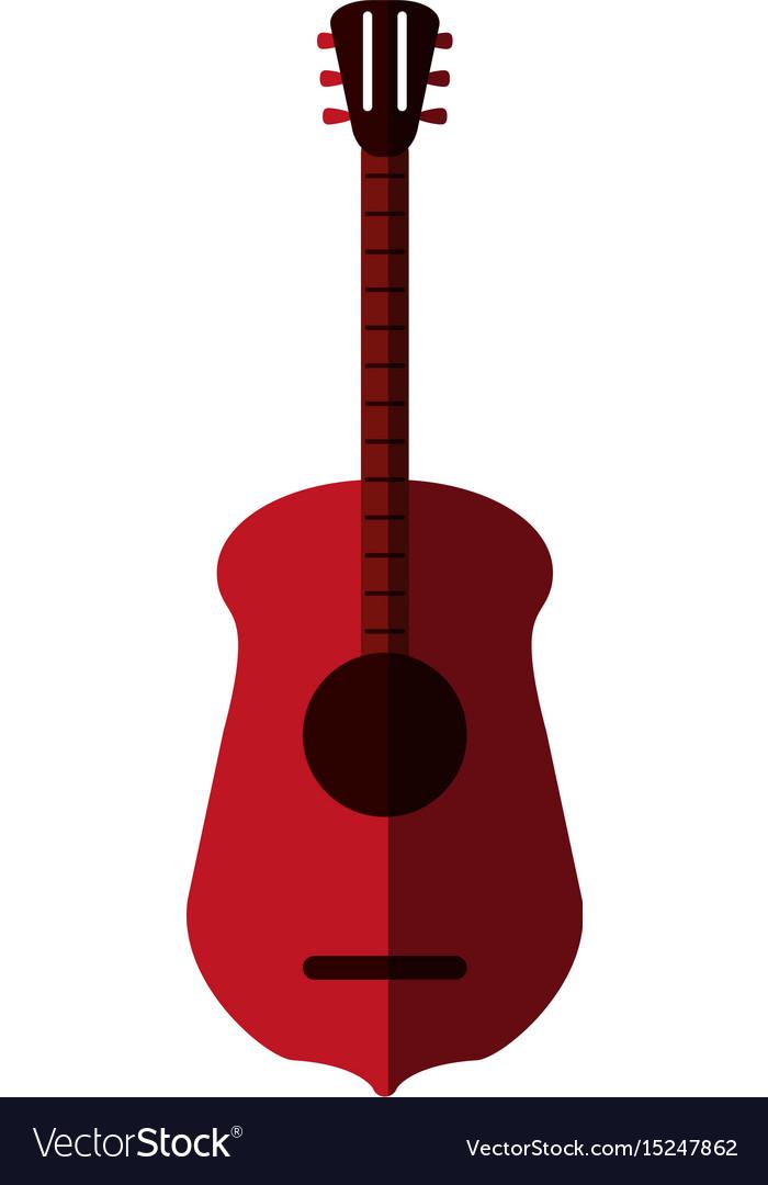 Guitar flat shadow