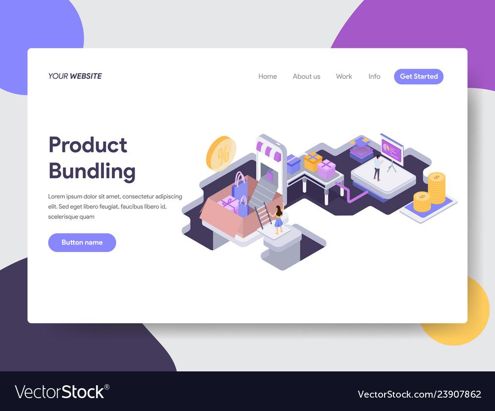 Product bundling isometric