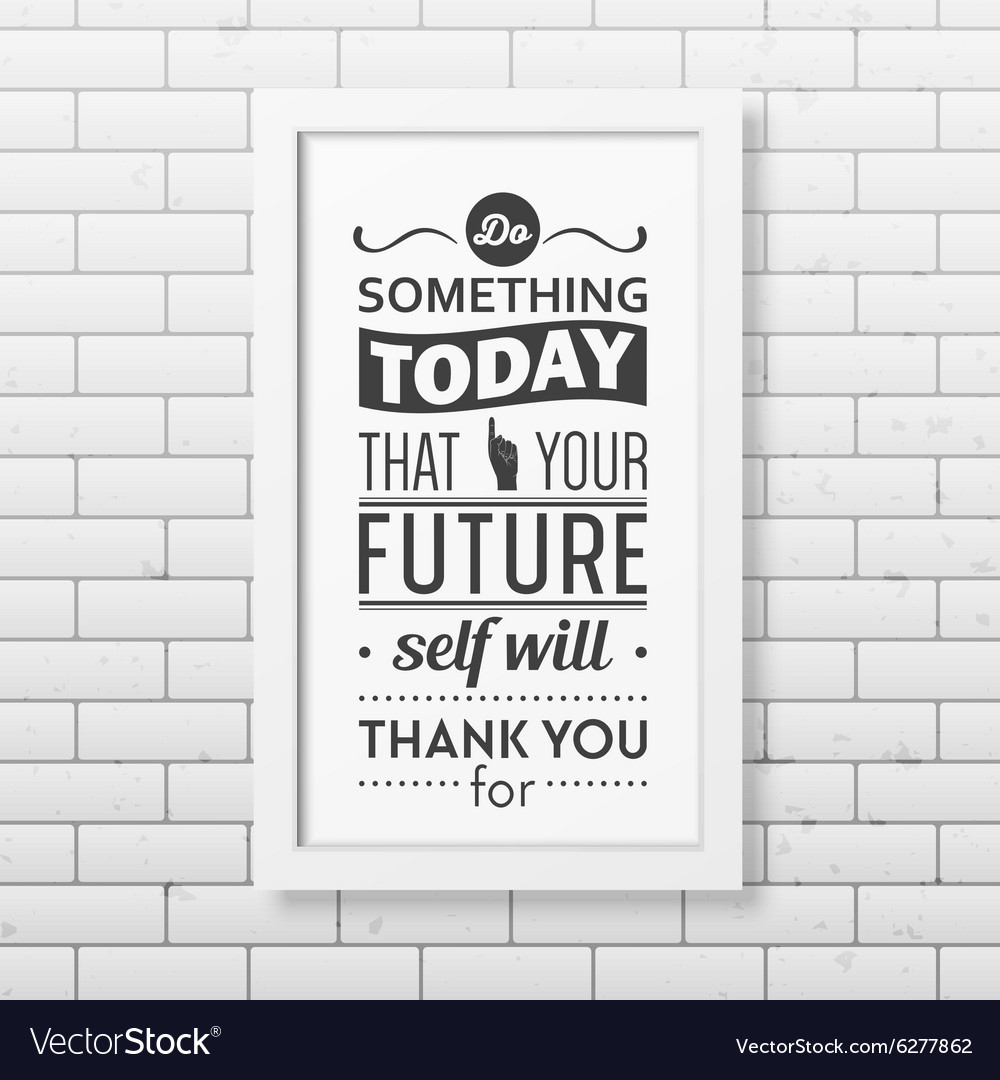 Quote typographical Background in realistic square