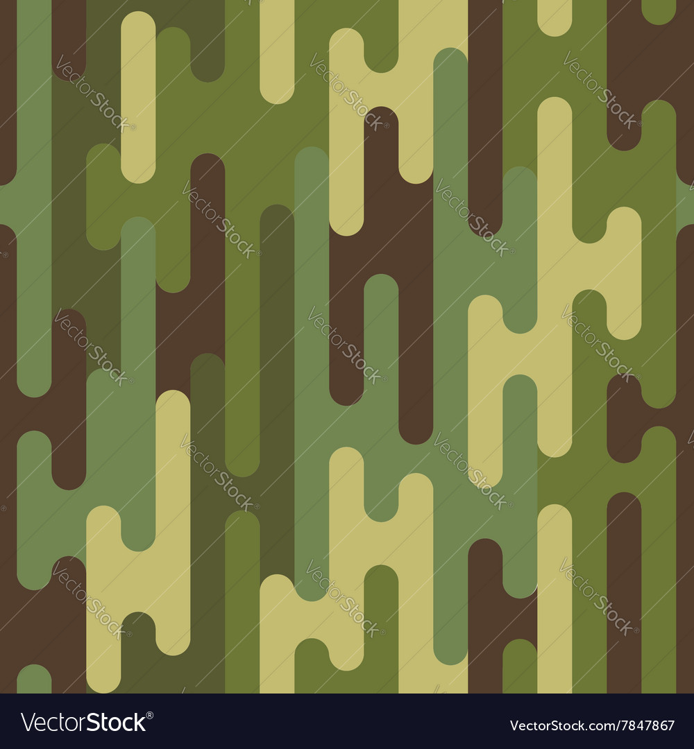 Pattern puzzle camouflage vector image