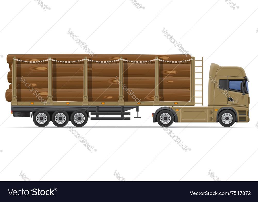 Truck semi trailer concept 09